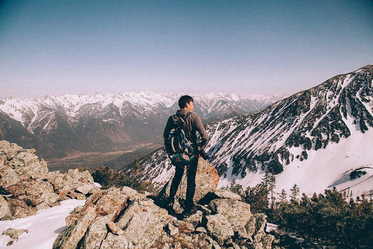 Gebirge in Sibirien