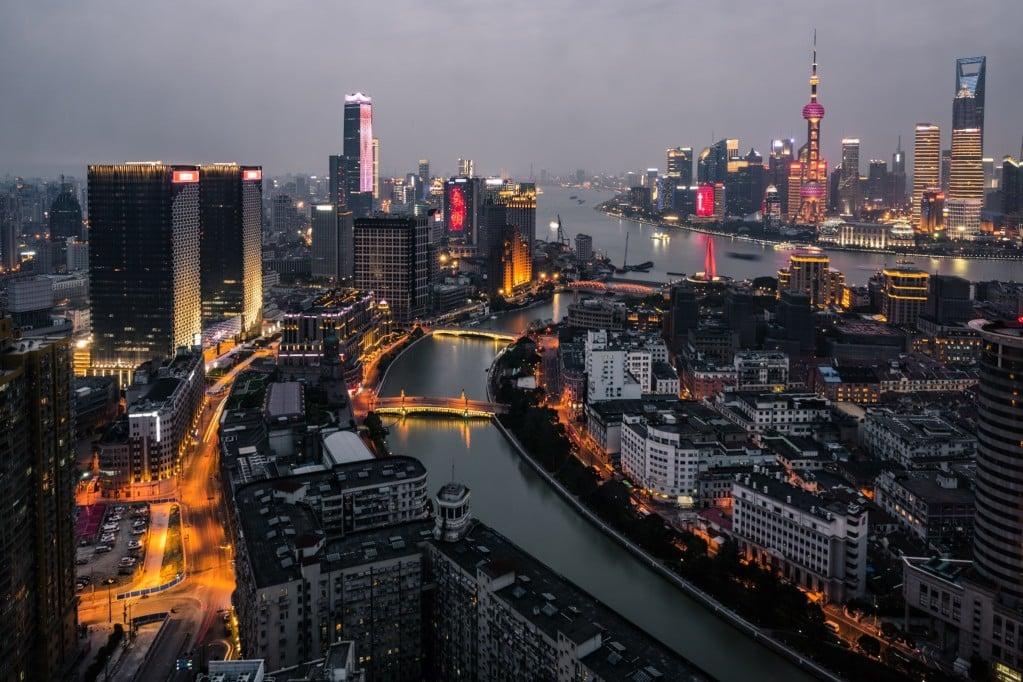 Shanghai - eine typische Großstadt in China
