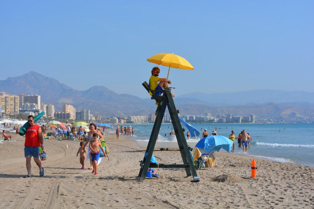 Strand von Campello -Alicante