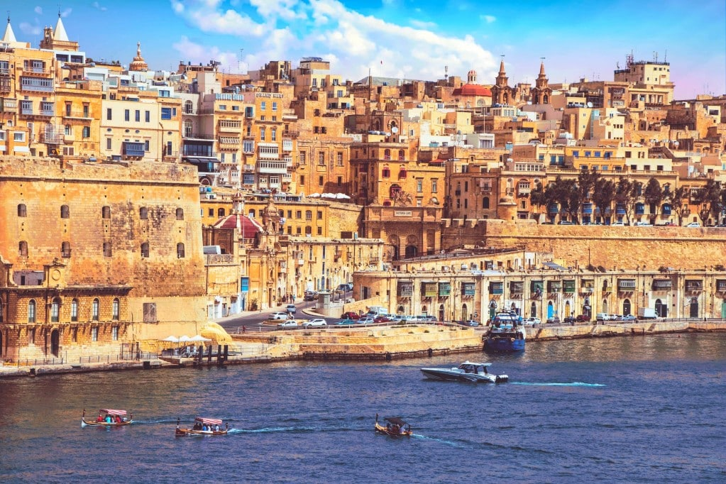Valetta - ein malerischer aber dicht bebauter Ort auf Malta
