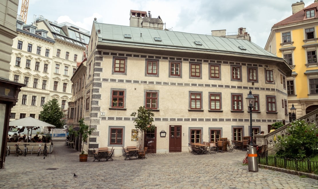 altes Haus in Wien