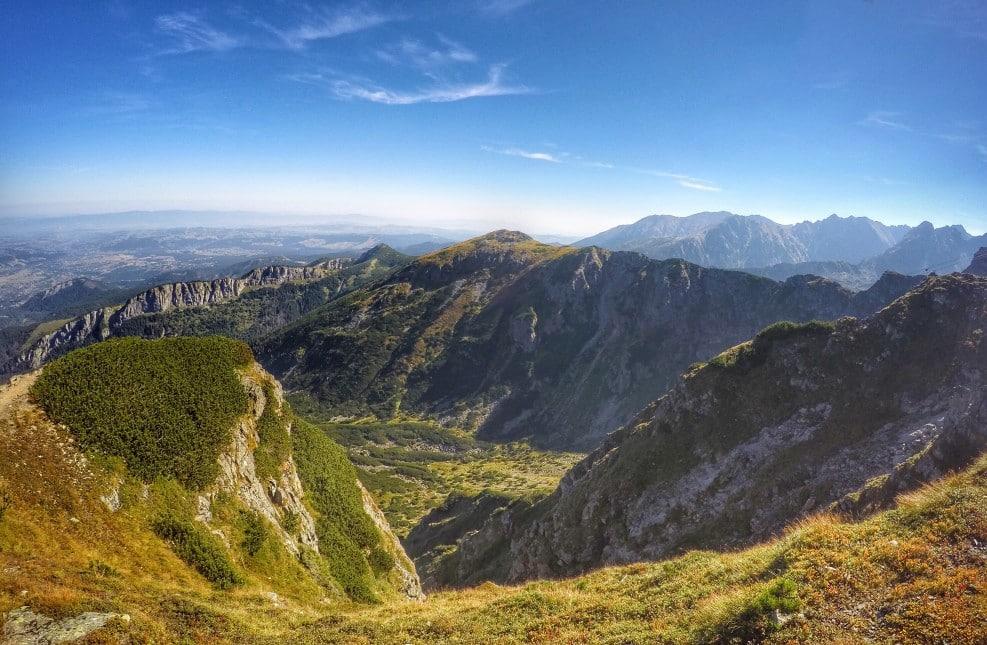 das polnische Tatra Gebirge