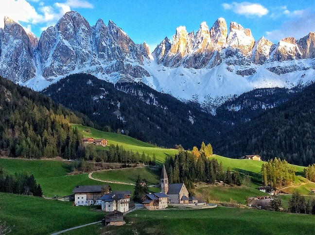 die italienischen Alpen
